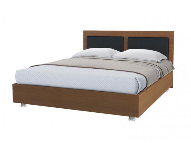 Купить кровать Marla 2 орех-черный
