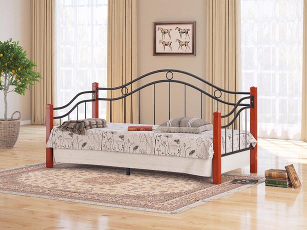Металлическая кровать Райтон Garda 8R орех