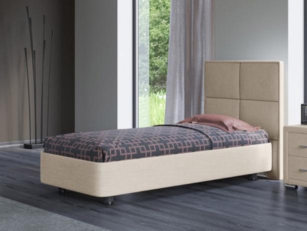 Односпальная кровать из ткани Rocky 2