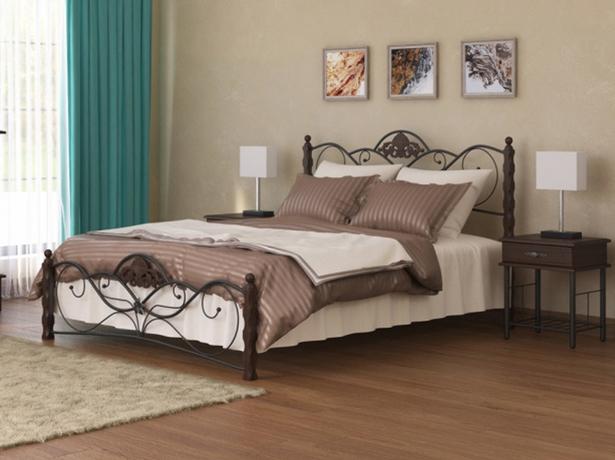 Кровать Гарда 2 R венге