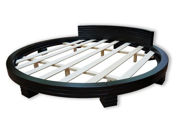 Круглая кровать Арена венге
