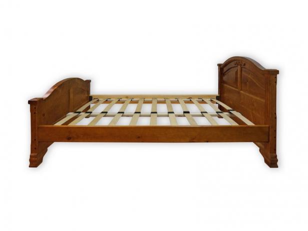 Купить кровать Шале Леонсия резьба орех