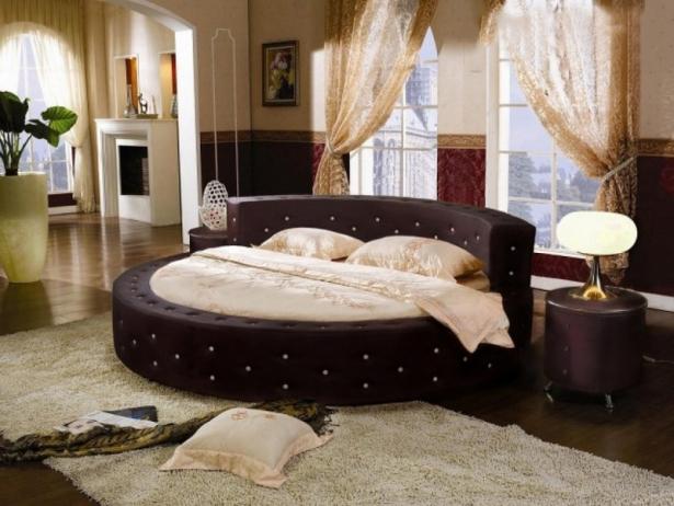 Купить круглую кровать Элоиза
