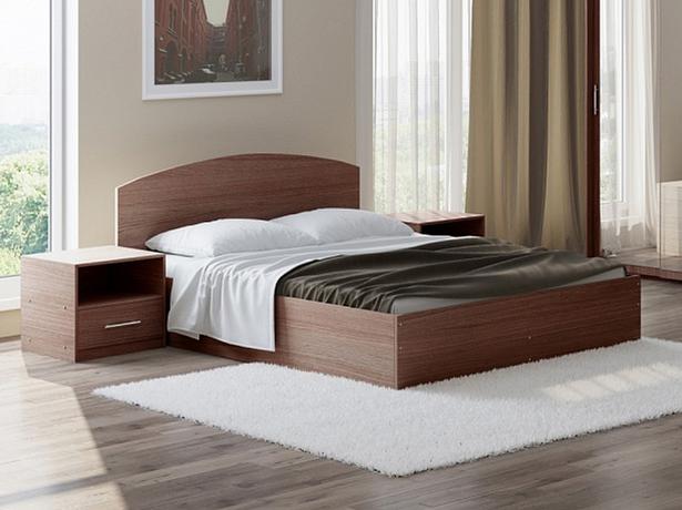 Кровать Этюд с подъемным механизмом ясень шимоно темный