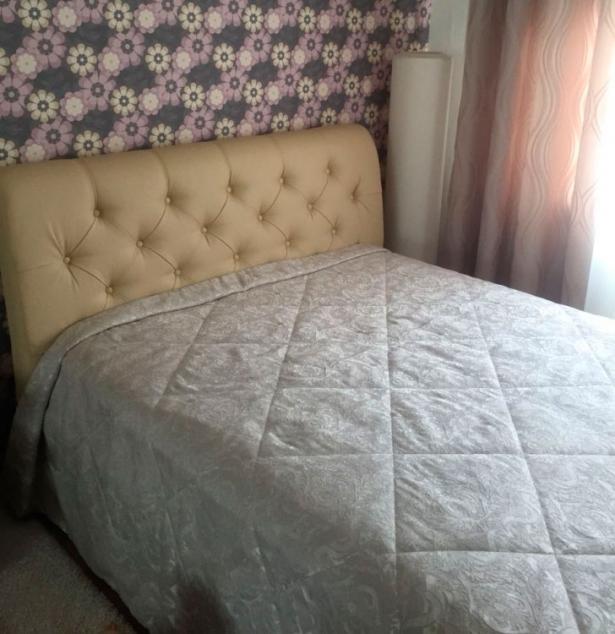 Кровать Life 4  Райтон фото кожа бежевая