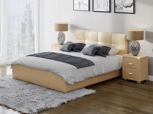 Кровать Life 1 Box с подъемным механизмом бежевый