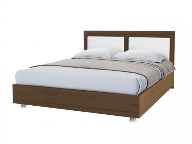 Купить кровать Marla 2 орех-белый