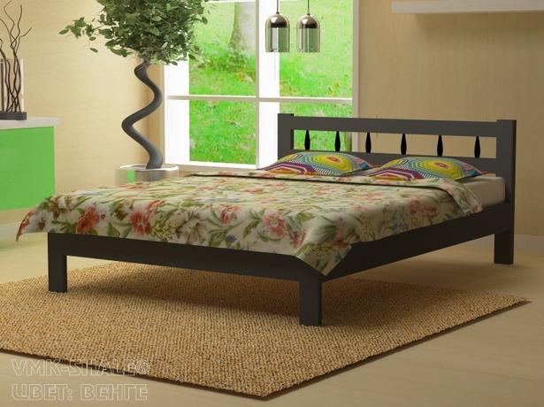 Кровать Шале Икея венге