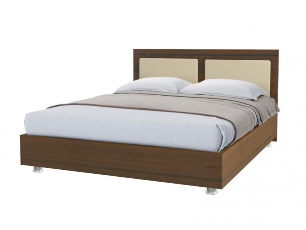Купить кровать Marla 2 орех беж