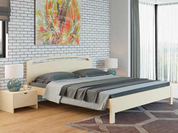 Кровать Веста 1R Тахта сосна слоновая кость