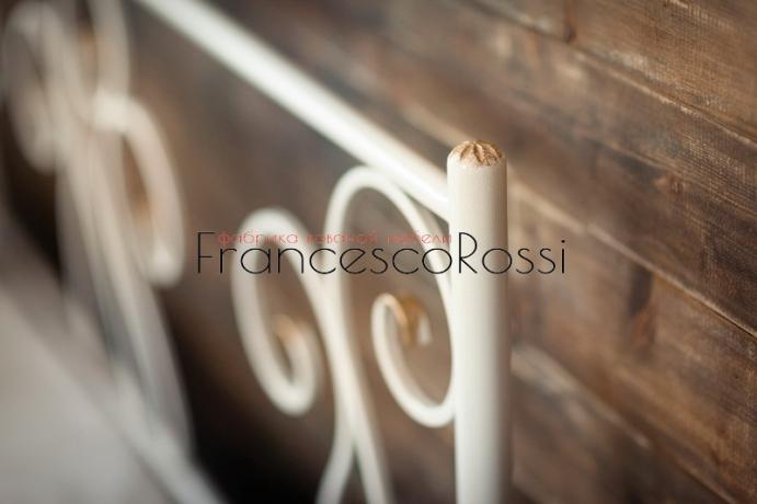 Кровать Francesco Rossi Лацио с двумя спинками