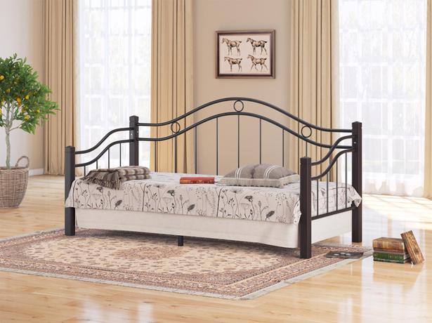 Купить металлическую кровать Райтон Garda 8R венге