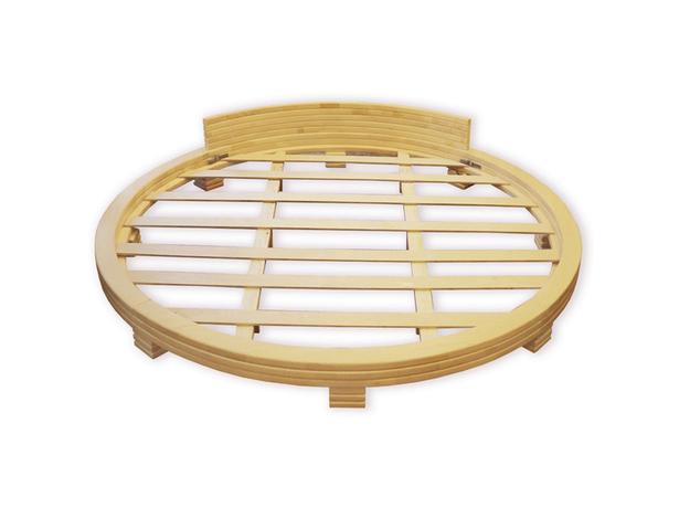 Круглая кровать Арена 1 - ольха