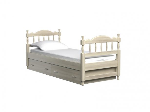 Детская кровать Юниор слоновая кость
