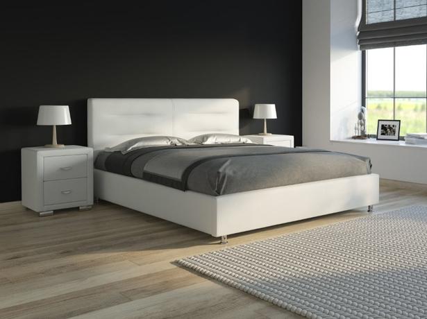 Белая кровать Nuvola 8