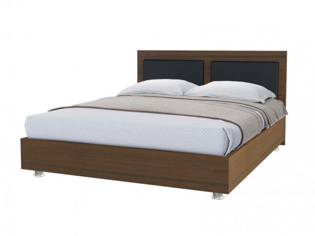 Купить кровать Marla 2 орех ит- черный