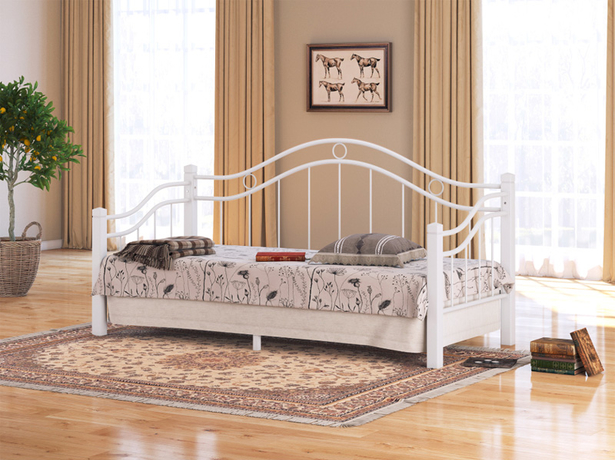 Белая кровать Райтон Garda 8R белый