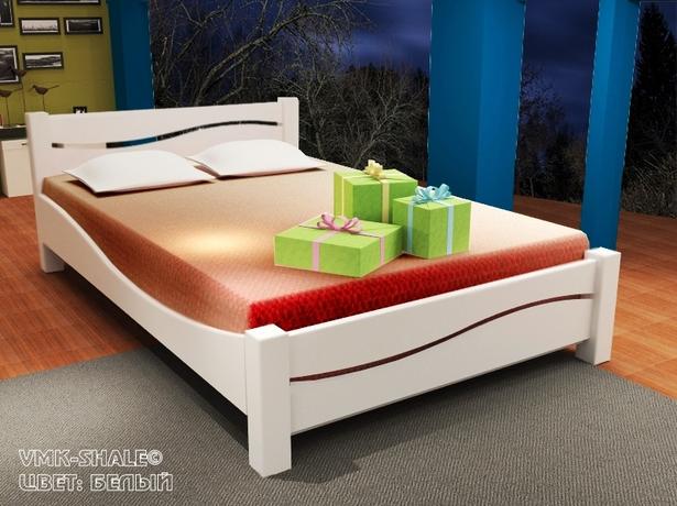 Кровать Шале Вэлла белый