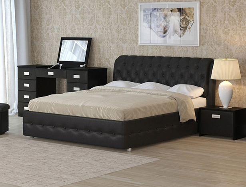 Купить кровать Como 4 черный