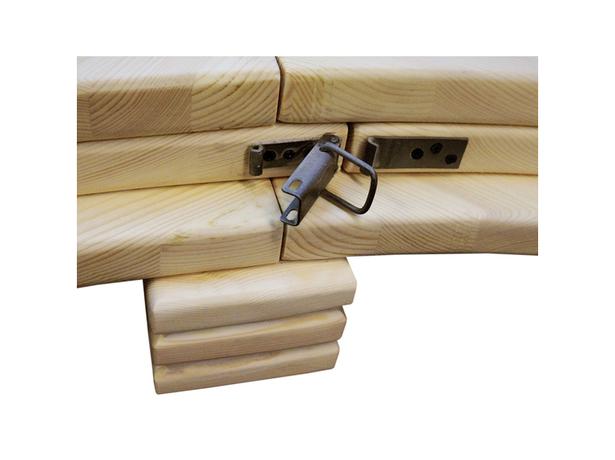 Круглая кровать Арена 1 - сосна