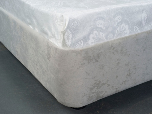 Односпальная кровать из ткани Rocky 1