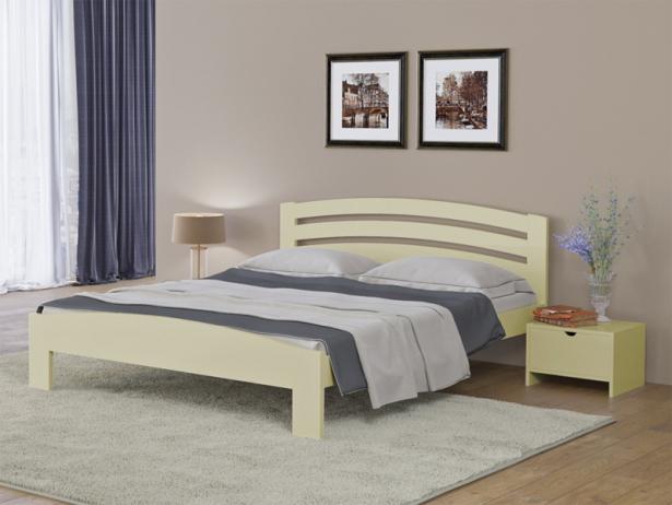 Купить кровать Веста 2 Райтон слоновая кость