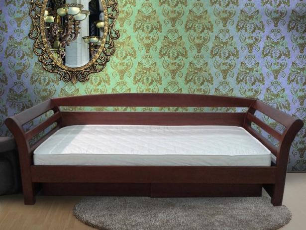 Кровать Бриз каштан