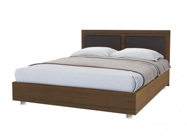 Купить кровать Marla 2 орех ит - венге