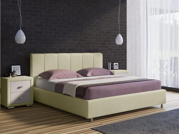 Кровать Nuvola 7 кремовая