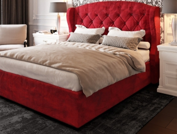 Кровать Генуя ткань